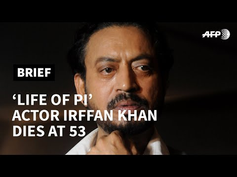 'Life of Pi' actor Irrfan Khan dies at 53 | AFP photo