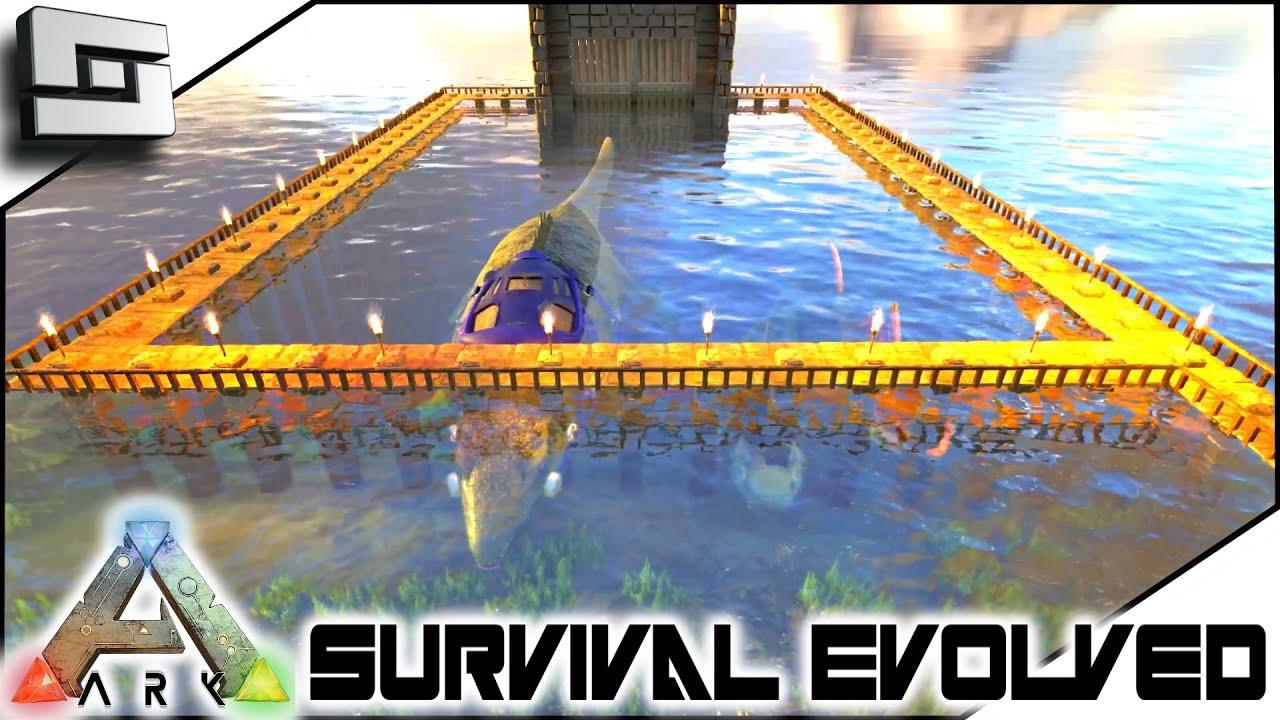 ARK: Survival Evolved   UNDERWATER DINO PEN! S3E89( Gameplay ) | Racer.lt