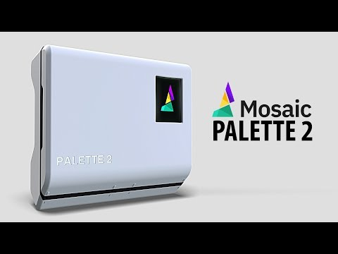 Announcing The Mosaic Palette 2 - Multi-Material Printing for Your 3D Printer