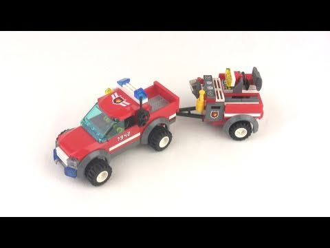 Lego City Off Road Fire Rescue Truck 7942