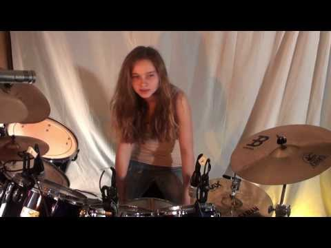 Introduction of 14 year old girl drummer Sina - UCGn3-2LtsXHgtBIdl2Loozw