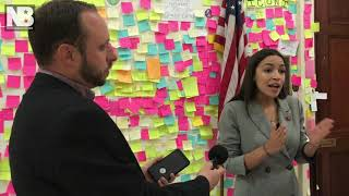 Ocasio-Cortez: 'I'm Absolutely Comfortable' Using Concentration Camp Term to Describe Border