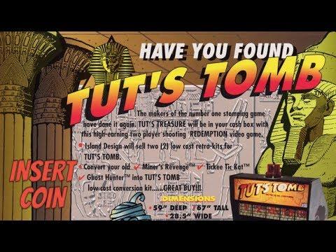 Tut's Tomb (1995) - Arcade - Partida Completa