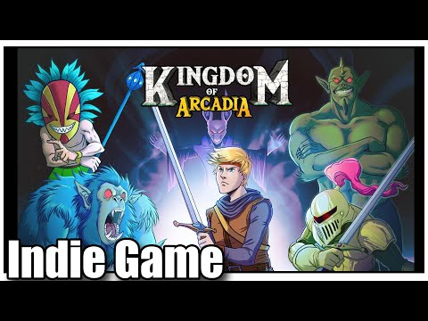 KINGDOM OF ARCADIA INDIE PS4 PS5 XBOX ONE NINTENDO SWITCH
