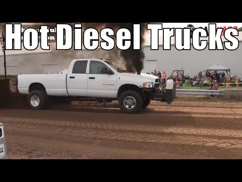 Hot Diesel Truck Class From WMP At Kent City MI 2018