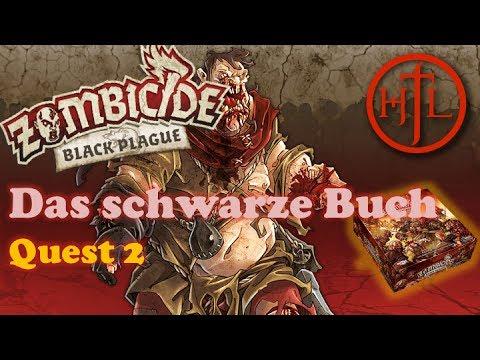 Let's Play - Zombicide Black Plague - Quest #2 Das schwarze Buch (Deutsch / Brettspiel / Einführung)