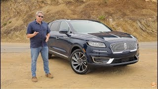 2019 Lincoln Nautilus Reserve AWD Test Drive Video Review