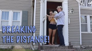 Surprising My GIRLFRIEND at Her House!! (Long Distance Relationship)