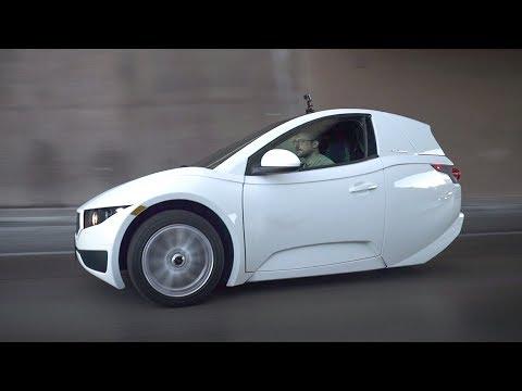 Electra Meccanica Solo EV: a tiny three-wheeled electric car