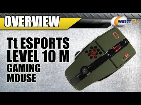 Newegg TV: Tt eSPORTS Level 10 M 8200 dpi Gaming Mouse Overview - UCJ1rSlahM7TYWGxEscL0g7Q