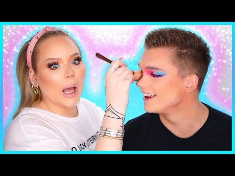 Doing My FIANCE'S Makeup!   NikkieTutorials