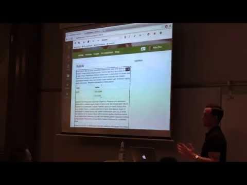 En förhandstitt på SiteVision 4 för redaktörer