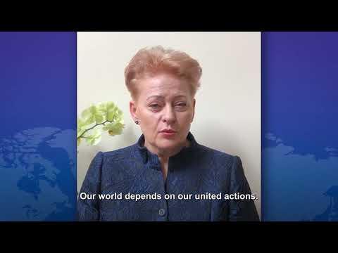 #Coronavirus - Dalia Grybauskaitė on joining the Coronavirus Global Response photo