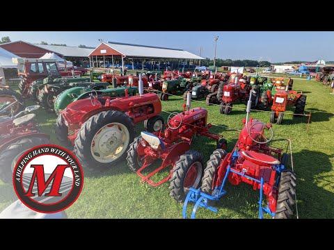 Antique Tractors at the 2021 Elizabethtown Fair Picture