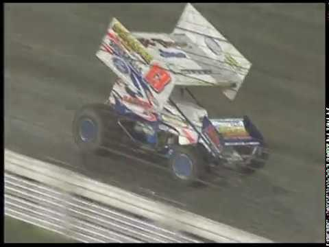 Danny Lasoski lands his 100th 410 victory at the Sprint Car Capital of the World! - dirt track racing video image