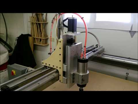 Overview of my DIY CNC Router - default