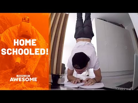Tricks & Talents Around The House | People Are Awesome - UCIJ0lLcABPdYGp7pRMGccAQ