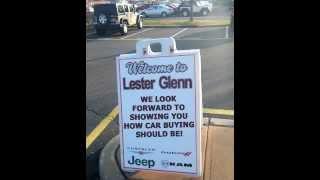Lester Glenn Jeep >> Jonathan Lindsey Lester Glenn Jeep Testimonial
