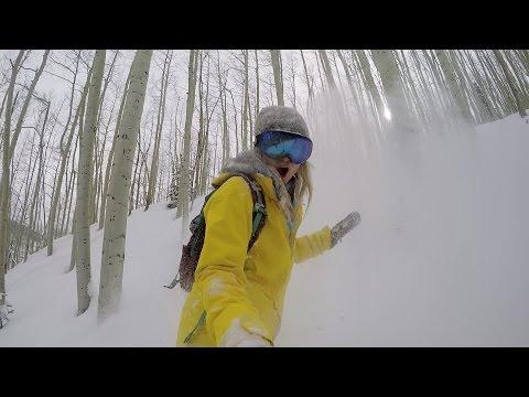 GoPro Line of the Winter: Hannah Teter - Colorado 3.1.15 - Snow