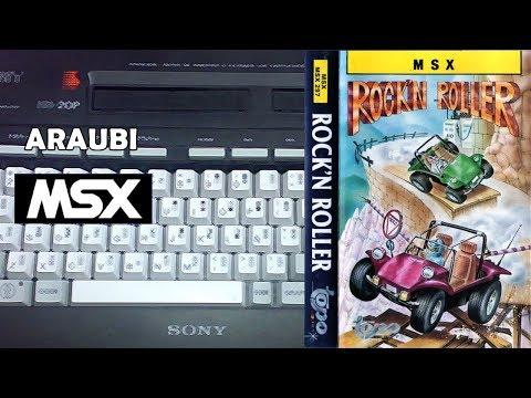 Rock'n Roller (Topo Soft, 1988) MSX [333] Walkthrough