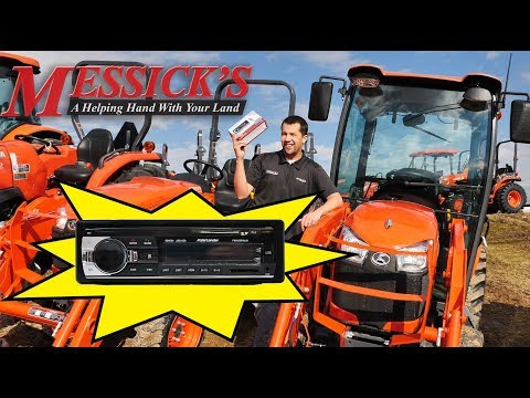 Messick's $89 Bluetooth Radio for Kubota Tractors Picture