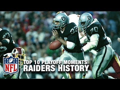 Top 10 Raiders Playoff Moments of All Time | NFL