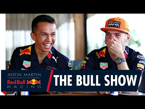 The Bull Show with Max Verstappen and Alex Albon