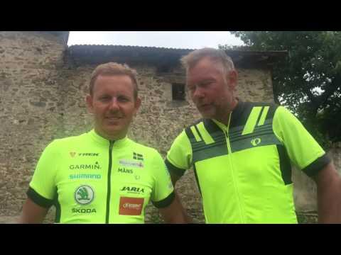 Fastest X Europe Guldsponsor Hans Oswald med vänner