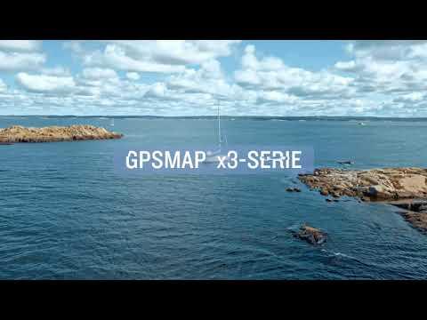GPSMAP x3 -Serie mit hervorragender Bildschirmauflösung