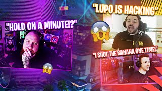LUPO IS HACKING!? (NOT CLICKBAIT) W/ COURAGE, DRLUPO & MARSHMELLO - Fortnite Battle Royale