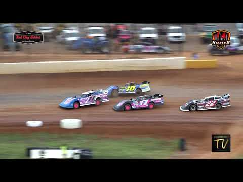 Carolina Sizzler 602 Red Clay Late Models July 18, 2021 - dirt track racing video image