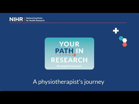 Your Path in Research - A physiotherapist's journey (part 1)