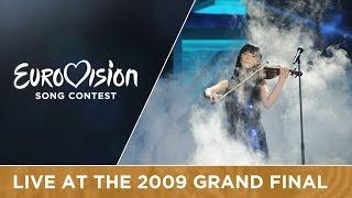 Urban Symphony - Rändajad (Estonia) Live 2009 Eurovision Song Contest