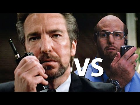 If Les Grossman Negotiated With Hans Gruber From Die Hard