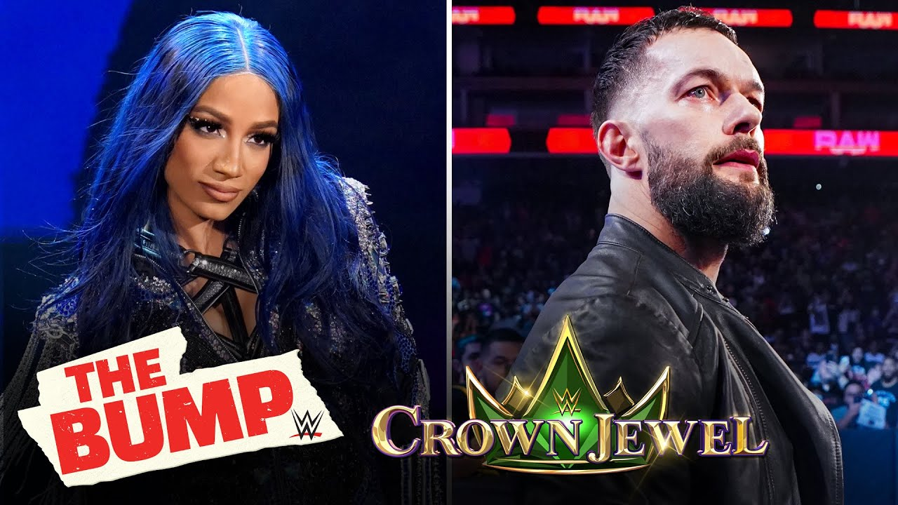 Sasha Banks, Finn Bálor and Doudrop preview WWE Crown Jewel: WWE's The Bump, Oct. 20, 2021