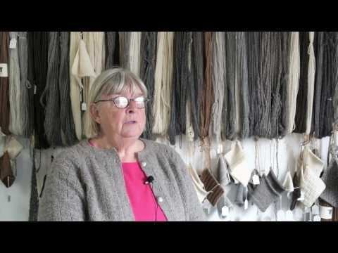 Marianne Fröberg - initiativtagare till Båvens spinnhus