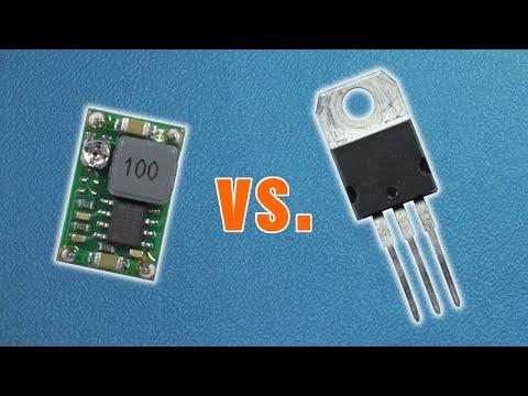 DIY Mini Portable Variable Power Supply 3v to 24v With Led