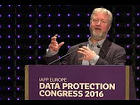 Richard Allan || IAPP Data Protection Congress 2016