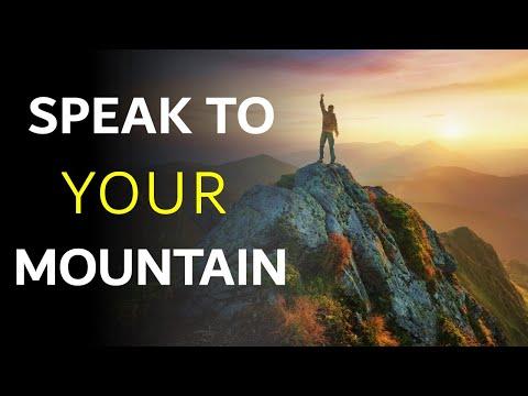 SPEAK TO YOUR MOUNTAIN - BIBLE PREACHING  PASTOR SEAN PINDER