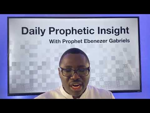Prophetic Insight December 14th, 2020