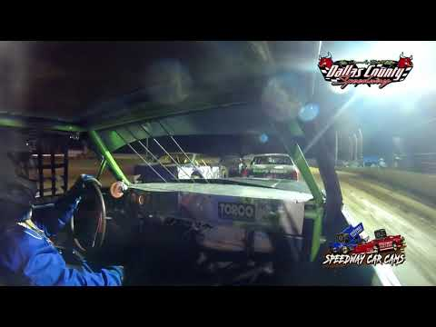 #26 Allen Carney - Pure Stock - 7-9-2021 Dallas County Speedway - In Car Camera - dirt track racing video image