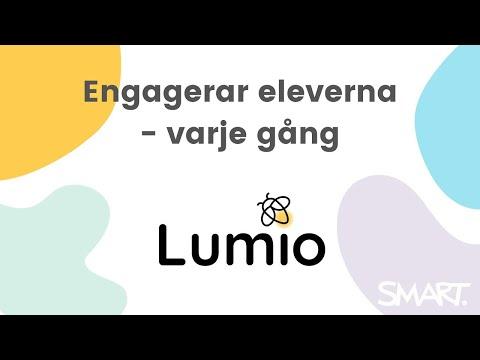 Lumio by SMART - mjukvara för elevaktiv undervisning