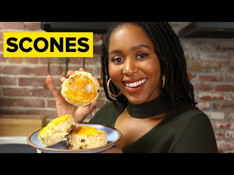 How To Make Perfect Scones ? Tasty