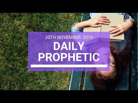 Daily Prophetic 30 November Word 3