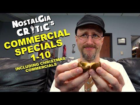 Nostalgic Commercial Specials 1-10 - Nostalgia Critic