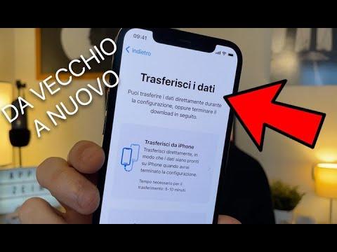 TRASFERIRE DATI su UN ALTRO/NUOVO iPhone