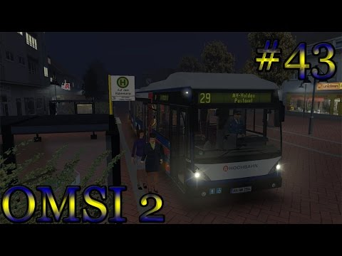 Omsi 2 #43 - Ahlheim: lijn 19 - 29 (Van Hool AGG300)