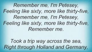 Petesey's Song Lyrics