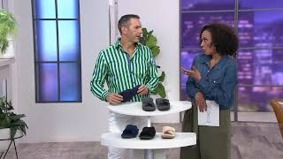 Vionic Adjustable Strap Slippers - Relax on QVC