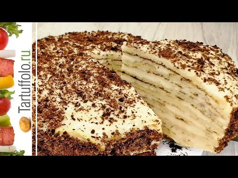 БЕЗ ДУХОВКИ. Обалденный Нежнейший Торт на сковороде photo